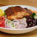 Blackened Salmon Salad